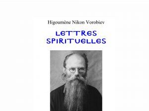 Présentation de « Lettres spirituelles » de l'higoumène Nikon Vorobiev à la librairie L'Âge d'Homme le samedi 7 mars