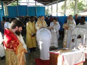Interview de l'archiprêtre Alexandre Antchoutine au sujet des paroisses missionnaires de l'Église orthodoxe russe hors-frontières en Haïti