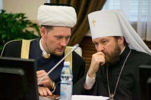 Le métropolite Hilarion de Volokolamsk a présenté un exposé à l'université fédérale de Kazan