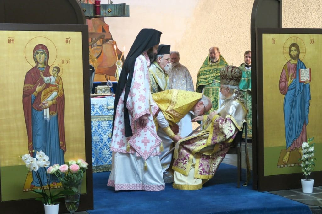 L'ordination épiscopale de l'évêque Jean de Charioupolis