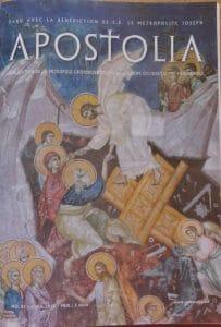 """Parution du n°85 (avril 2015) de la revue """"Apostolia"""""""