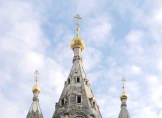 Des travaux de restauration à la cathédrale Saint-Alexandre de la Néva à Paris