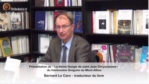 Une interview de Bernard Le Caro à l'hebdomadaire serbe «Pečat»