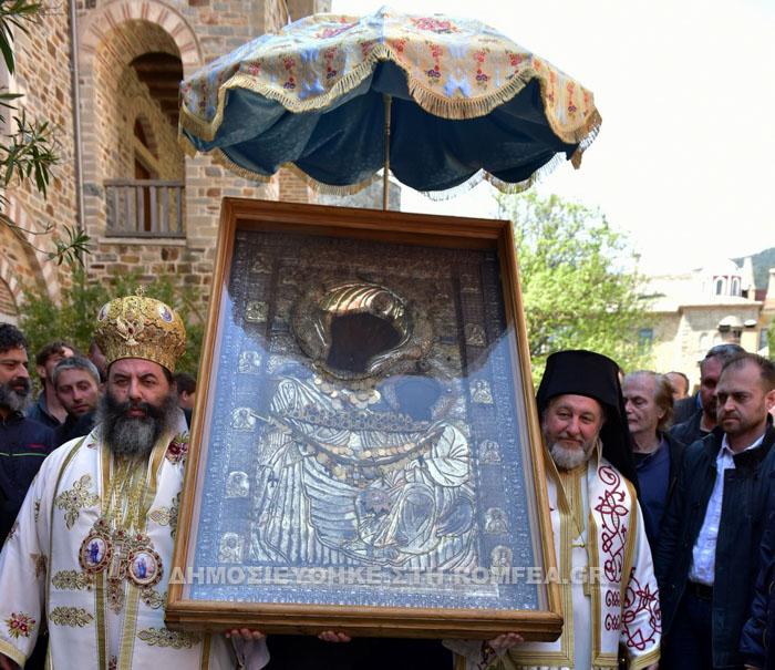 Fête de l'icône de la Mère de Dieu d'Iviron (Mont Athos)