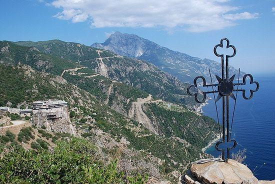 Le gouvernement grec allouera une somme de 1.3 million d'euros au Mont Athos
