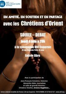 Une soirée de solidarité avec les chrétiens d'Orient à Paris