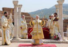 Turquie: le patriarche Bartholomée a célébré la liturgie dans les ruines de l'ancienne basilique Saint-Jean le Théologien à Ephèse