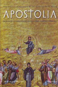 "Parution du n°86 (mai 2015) de la revue ""Apostolia"""