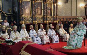 Lettre synodale de l'Église orthodoxe serbe au patriarche œcuménique Bartholomée, avec copie à tous les primats des Églises orthodoxes et leurs saints-synodes