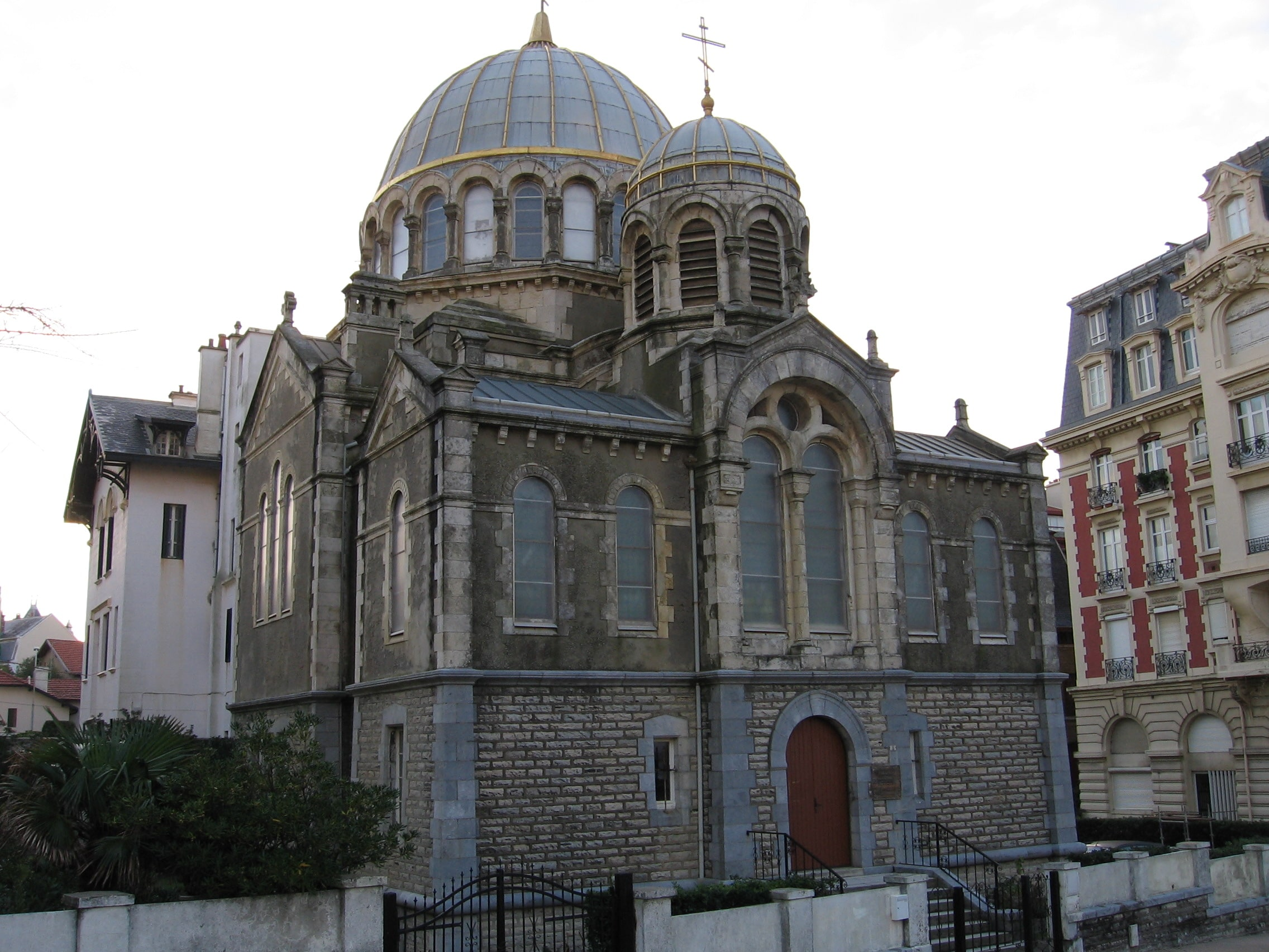 Saint Alexander Nevsky and Protection of the Mother of God Church in Biarritz was selected for the Loto du Patrimoine