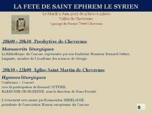 Ce soir à Chevreuse en soutien aux réfugiés syriens