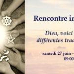 Une rencontre interreligieuse sur la prière
