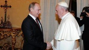 Interview du secrétaire pour les relations interchrétiennes du département des relations ecclésiastiques extérieures du Patriarcat de Moscou au sujet de la prochaine rencontre du président Poutine et du pape François