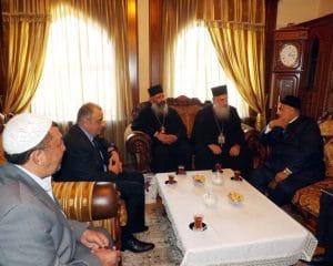 Une délégation de l'Eglise orthodoxe de Géorgie reçue à la Direction des musulmans du Caucase (Azerbaïdjan)
