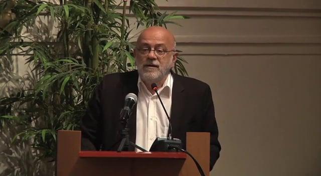 """A prophetic gesture"", said Jean-François Colosimo"