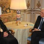 Rome: rencontre du métropolite Hilarion de Volokolamsk avec le président de l'Italie, Sergio Mattarella