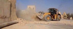 Un monastère chrétien du Ve siècle détruit au bulldozer par les islamistes de Daech au centre de la Syrie