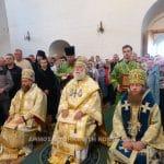 Le pape et patriarche d'Alexandrie Théodore II a présidé la liturgie au monastère de la Transfiguration du Sauveur sur les îles Solovki