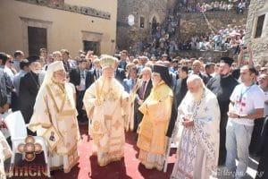 Le patriarche œcuménique Bartholomée a célébré le 15 août au sanctuaire de la Mère de Dieu de Soumela en Turquie