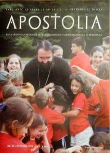 """Parution du n°90 (septembre 2015) de la revue """"Apostolia"""""""