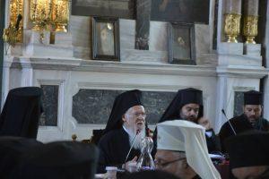 Discours du patriarche œcuménique Bartholomée à la synaxe de la hiérarchie du Trône (le 29 août) – 2ème partie