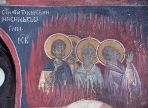 saints Agathonice, Zotique, Zénon, Théoprèpe, Akindynos, Sévérien et leurs compagnons, martyrs à Nicomédie (305-311)
