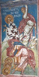 Saint hiéromartyr Babylas, évêque d'Antioche, et avec lui les enfants martyrs : Urbain, Prilidien, et Épolonios, et leur mère Christodoula (251)