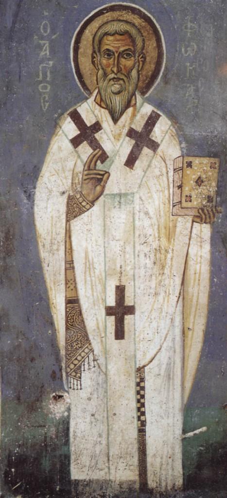 Saint Phocas, évêque de Sinope, martyr (117)