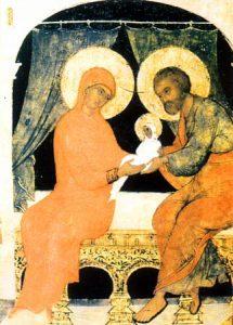 Saint Joachim et sainte Anne, justes ancêtres de Dieu