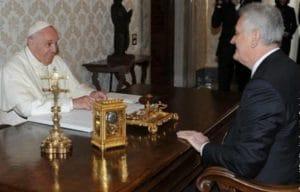 Le président serbe Nikolić a rencontré le pape François au Vatican