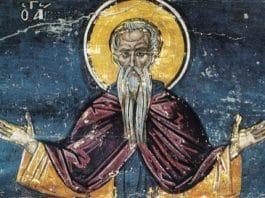 Saint Pimène le Grand, ascète au désert de Scété (vers 450