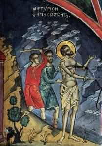 Saint martyr Sozon de Cilicie (304)