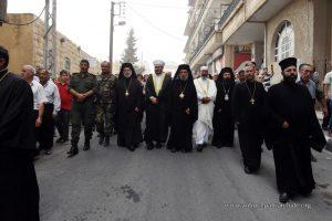 Fête patronale du monastère orthodoxe de la Nativité de la Mère de Dieu à Saïdnaya (Syrie)