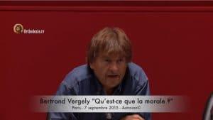 Bertrand Vergely : « Qu'est-ce que la morale ? »