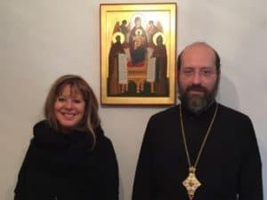 Une adjointe au maire de Paris a rendu visite à Mgr Job de Telmessos