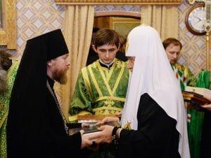 L'archimandrite Tikhon (Chevkounov), supérieur du monastère Sretensky de Moscou, a été élevé à l'épiscopat