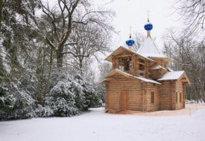Télévision (KTO): «L'orthodoxie, ici et maintenant» – L'église en bois du Séminaire orthodoxe russe en France