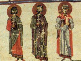 Saints Akindynos, Pégase, Aphtonius, Elpidiphore et Anempodiste et leurs compagnons, martyrs en Perse (vers 345