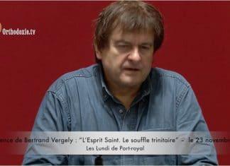 Bertrand Vergely : « L'Esprit Saint. Le souffle trinitaire »
