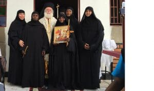 Visite du pape et patriarche d'Alexandrie Théodore II en Ouganda