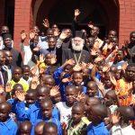 Visite pastorale du pape et patriarche d'Alexandrie Théodore II en Ouganda