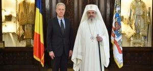Le nouvel ambassadeur des États-Unis en Roumanie a rendu visite au patriarche Daniel