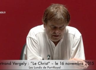 Bertrand Vergely Le Christ - Orthodoxie.com