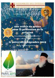 Paris: une veillée de prière pour la protection de la Création