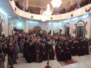 Des moines athonites ont visité la Syrie