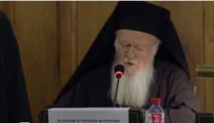 Vidéo «Religion et liberté» par le patriarche oecuménique Bartholomée