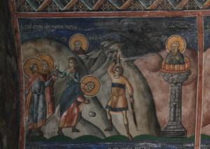Saints Ménas, Hermogène et Eugraphe, martyrs à Alexandrie (vers 313)