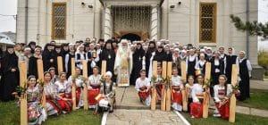 Fête patronale du séminaire théologique orthodoxe Sainte-Philothée à Pasărea, près de Bucarest