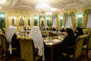 Déclarations de l'Église orthodoxe russe au sujet de la dernière session de la commission spéciale inter-orthodoxe de préparation du Concile de l'Église orthodoxe