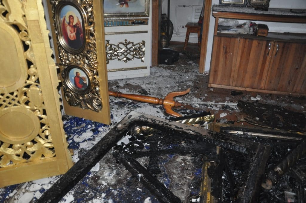 Nouvelle profanation d'une église en Ukraine occidentale